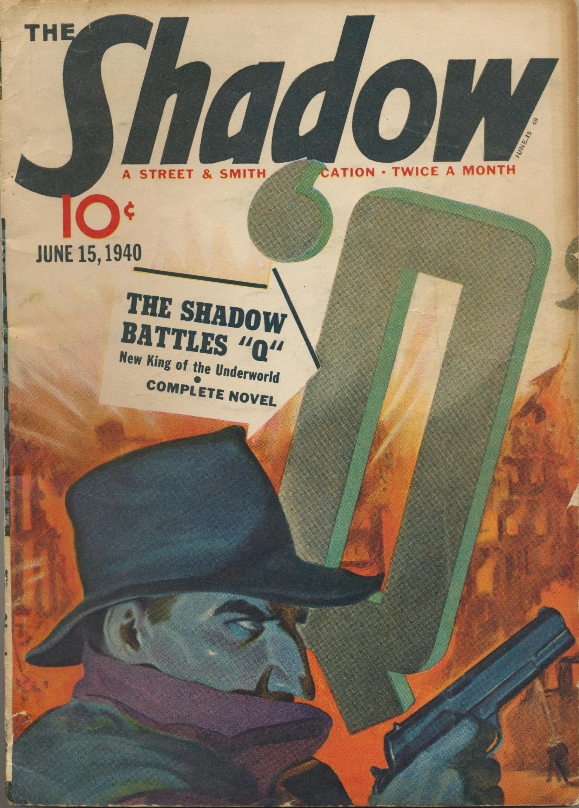 The SHADOW Magazine pulp February 15, 1936 Street and Smith NORTH WOODS MYSTERY