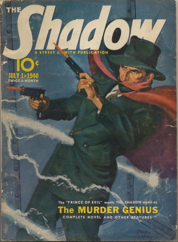 Shadow Magazine Vol 1 #201 July, 1940
