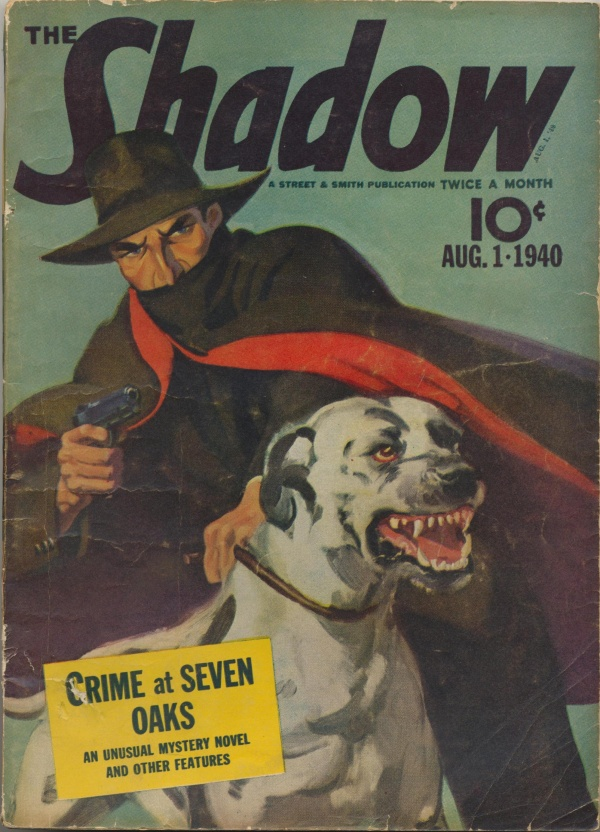 Shadow Magazine Vol 1 #203 August, 1940