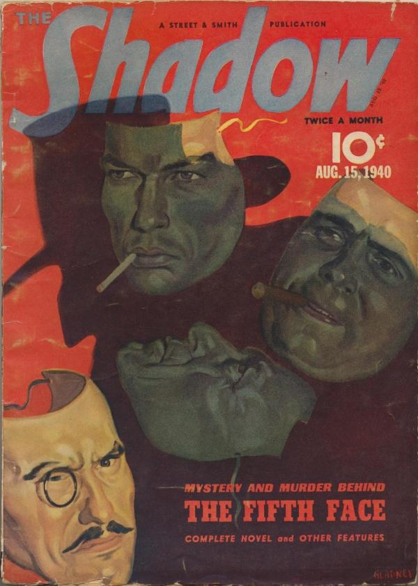 Shadow Magazine Vol 1 #204 August, 1940
