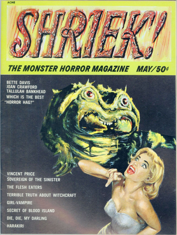 Shriek #1 May 1965