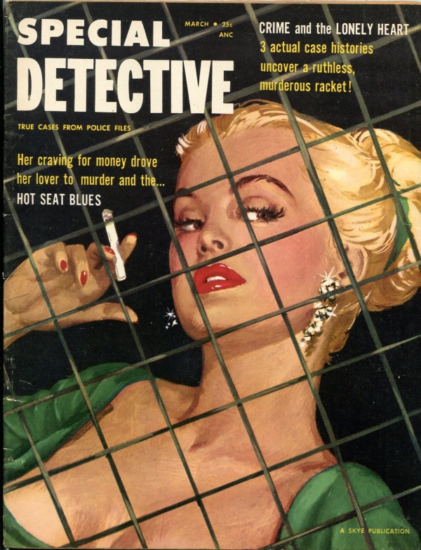 Special Detective February 1955