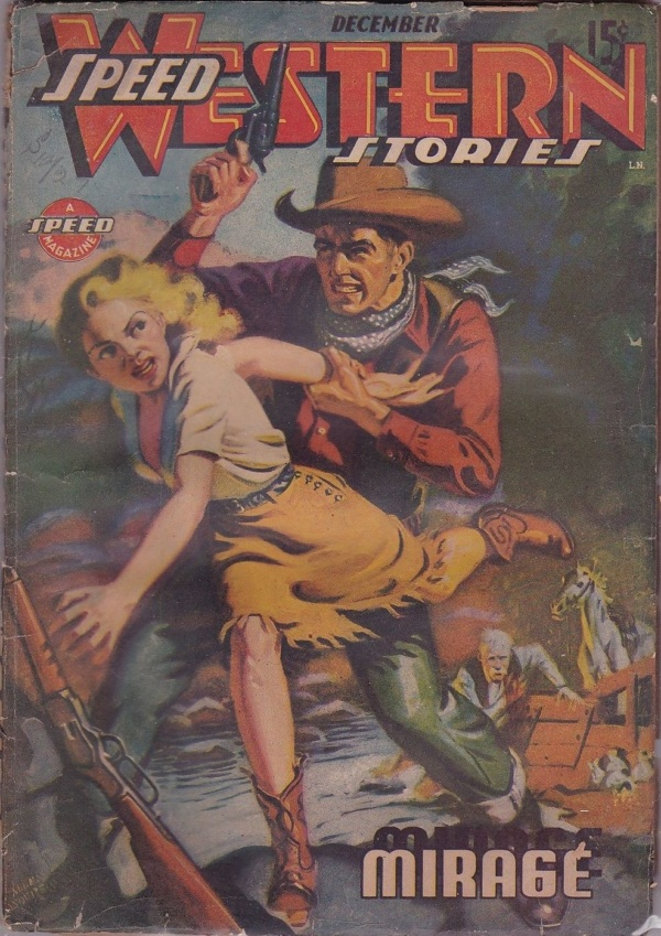Speed Western Stories December 1943