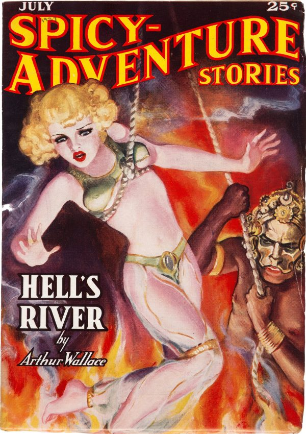 Spicy Adventure Stories - July 1937