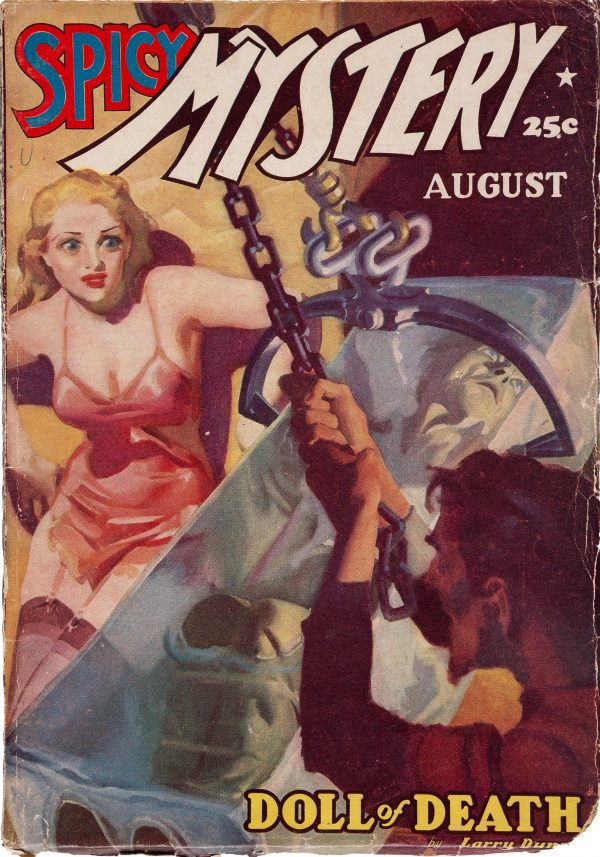 Spicy Mystery Stories - August 1938