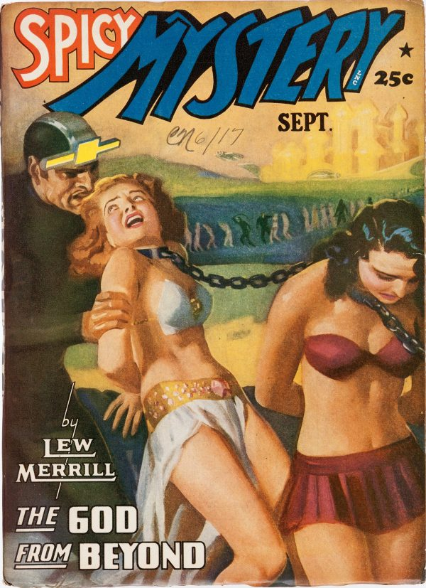 Spicy Mystery Stories - September 1941