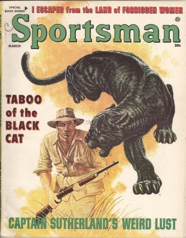 Sportsman March 1957