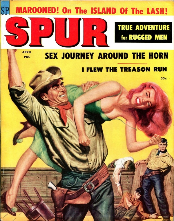 Spur Magazine April 1959