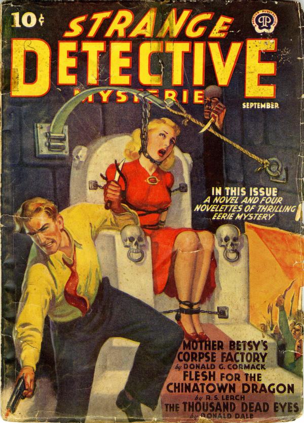 Strange Detective Mysteries September  1940