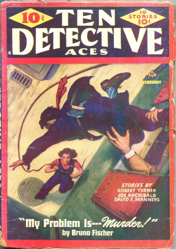 Ten Detective Aces February 1944