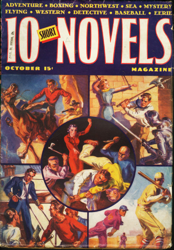 Ten Short Novels October 1938