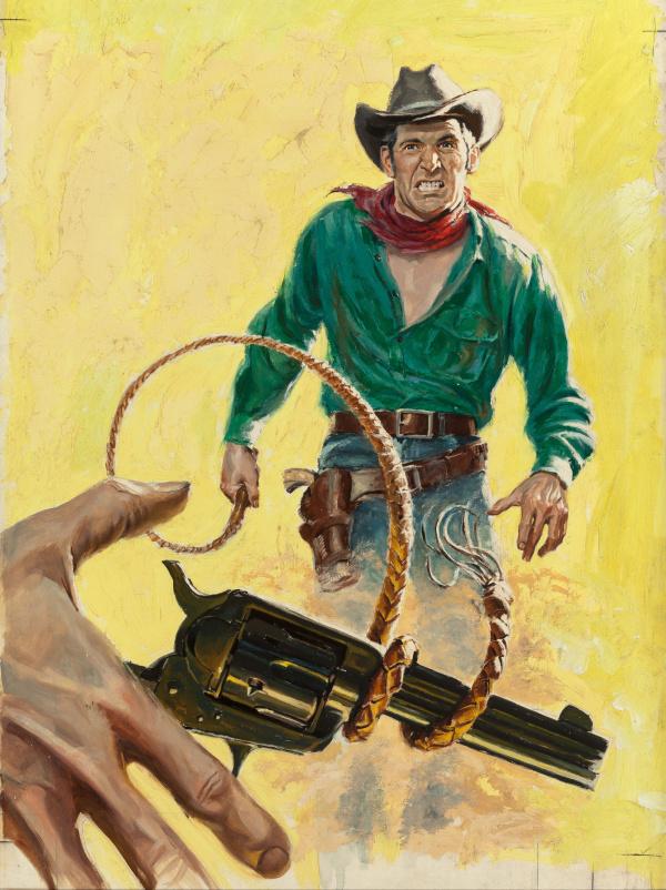 Texas Man by William Macleod Raine, Hillman Periodicals, Inc, 1957