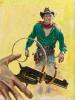Texas Man by William Macleod Raine, Hillman Periodicals, Inc, 1957 thumbnail