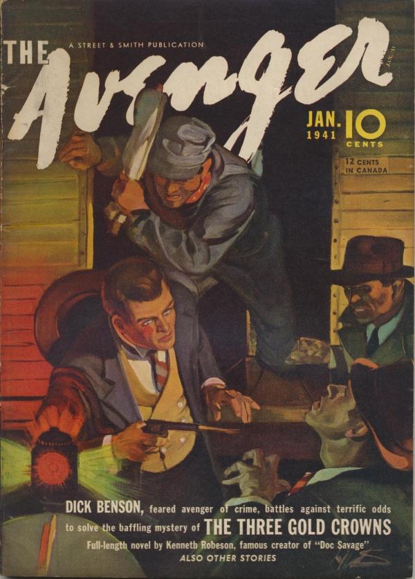 The Avengers January 1941