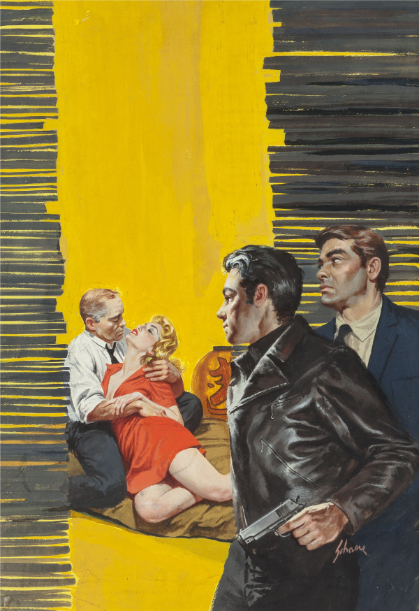The Hoods Ride In paperback cover, 1959