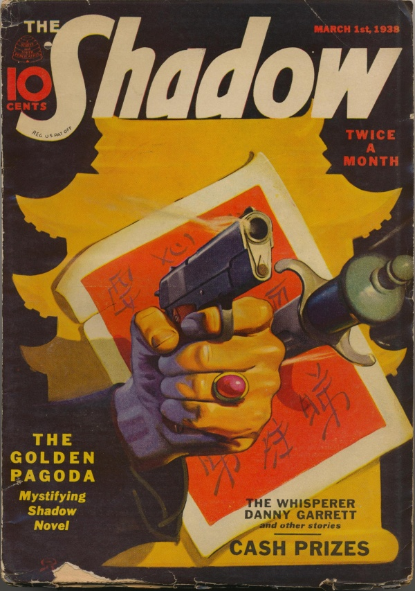 The Shadow Magazine March 1, 1938 The Golden Pagoda