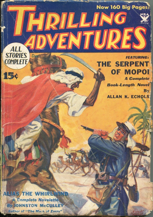 Thrilling Adventures December 1933