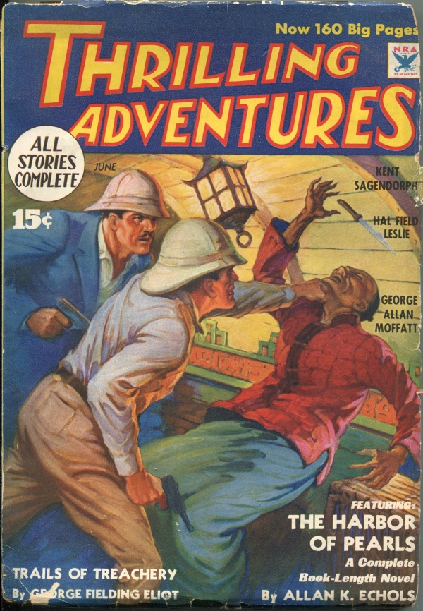 Thrilling Adventures June 1934
