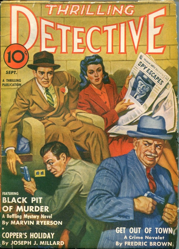 Thrilling Detective September 1942
