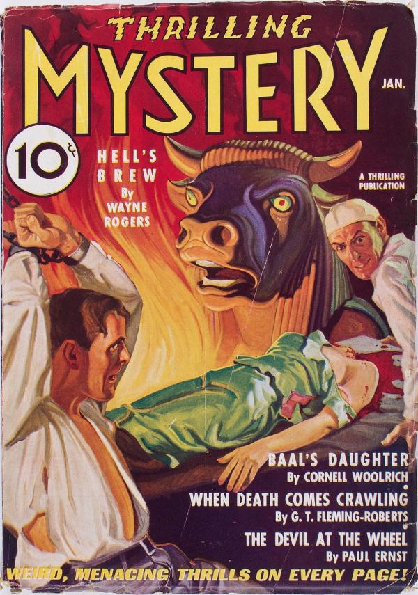 Thrilling Mystery January 1936