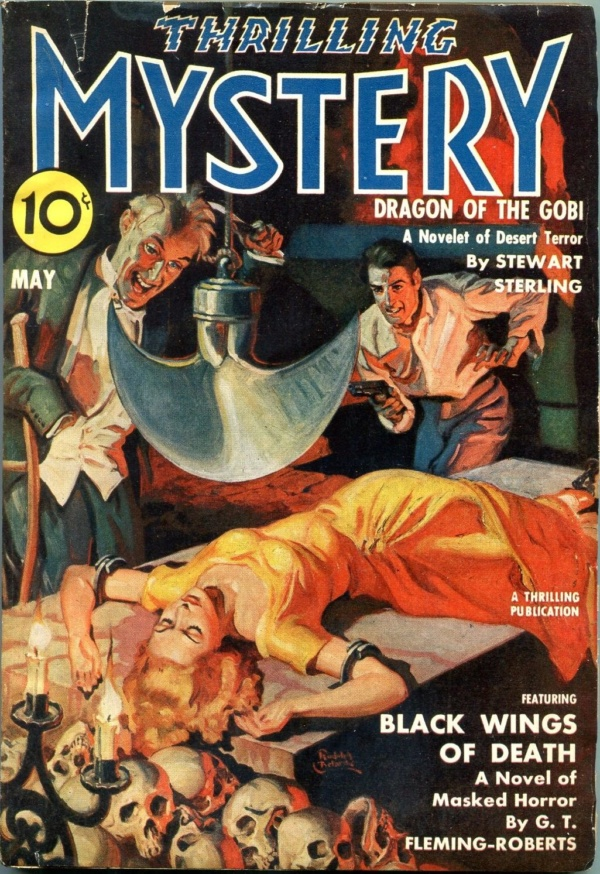 Thrilling Mystery May 1940