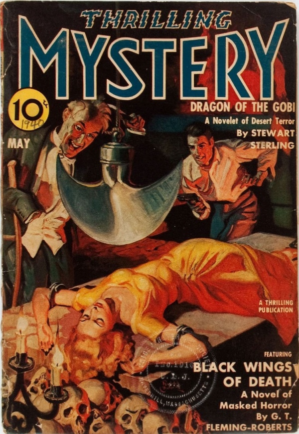 Thrilling Mystery - May 1940