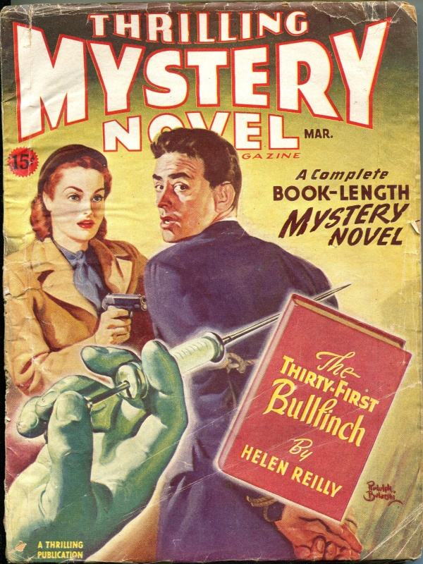 Thrilling Mystery Novel March 1946