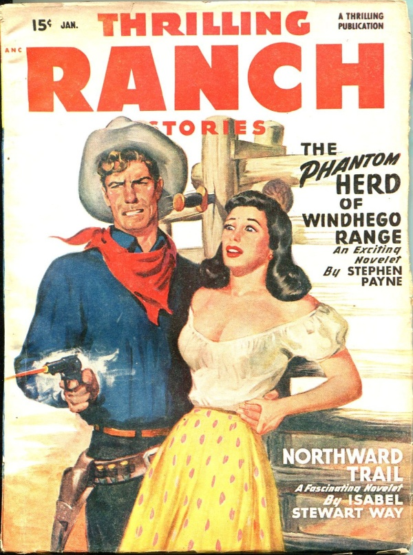 Thrilling Ranch Stories January 1949
