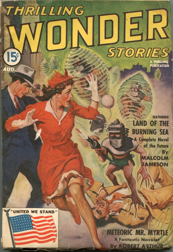 Thrilling Wonder Stories August 1942