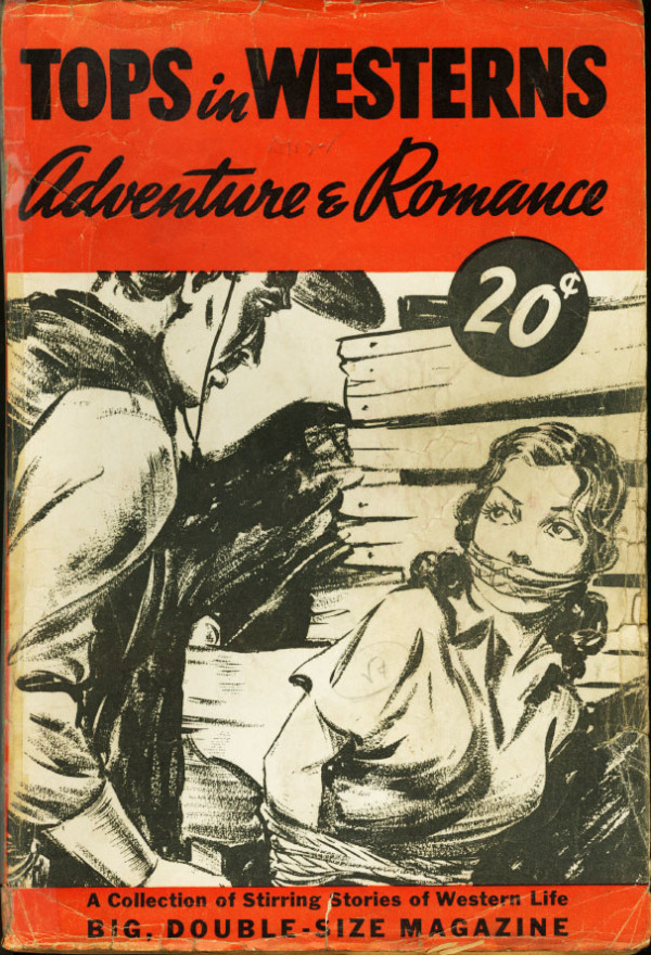 Tops In Westerns Adventure And Romance 1940
