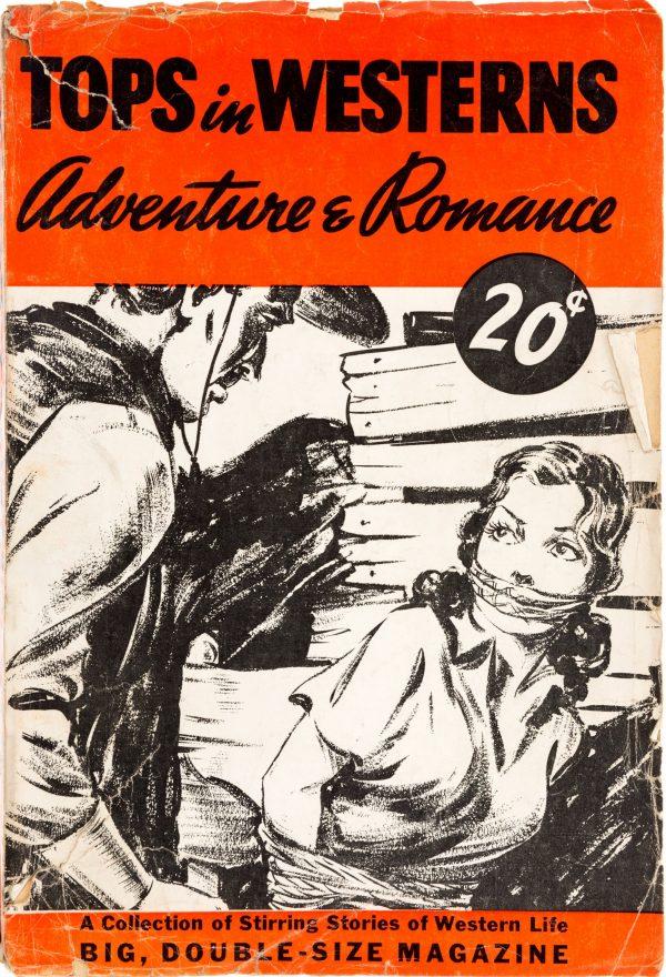 Tops in Westerns magazine 1940