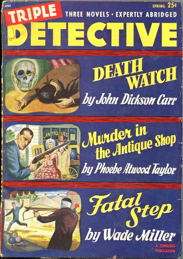 Triple Detective November 1938
