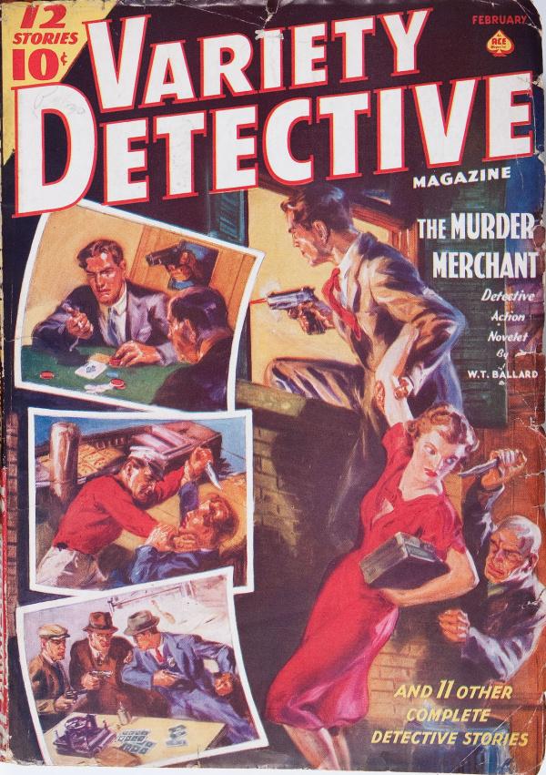 Variety Detective  February 1939