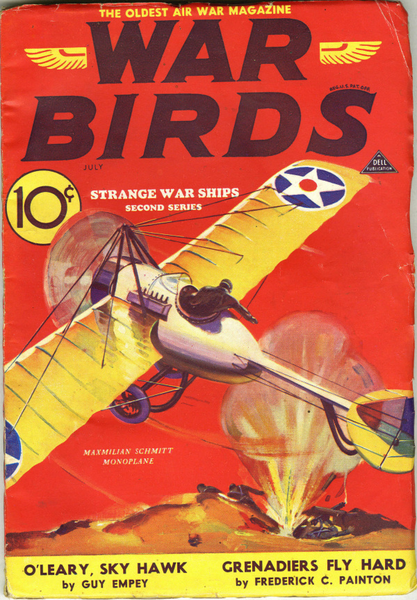 War Birds July 1933