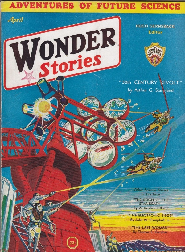 Wonder Stories, April 1932