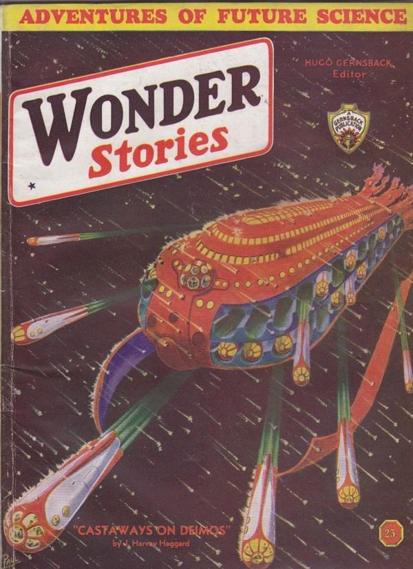 Wonder Stories, August 1933