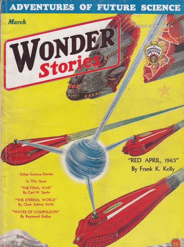 Wonder Stories March 1932