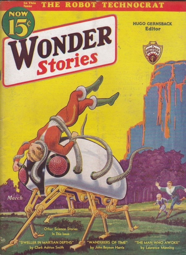 Wonder Stories, March 1933