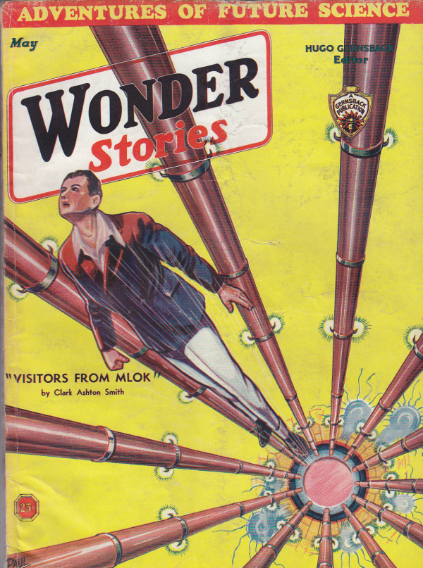 Wonder Stories, May 1933