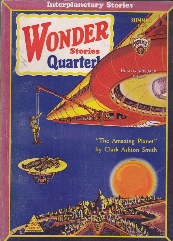 Wonder Stories Quarterly, Summer 1931