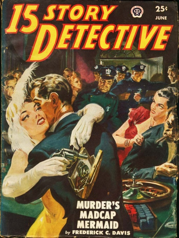 15 Story Detective June 1950