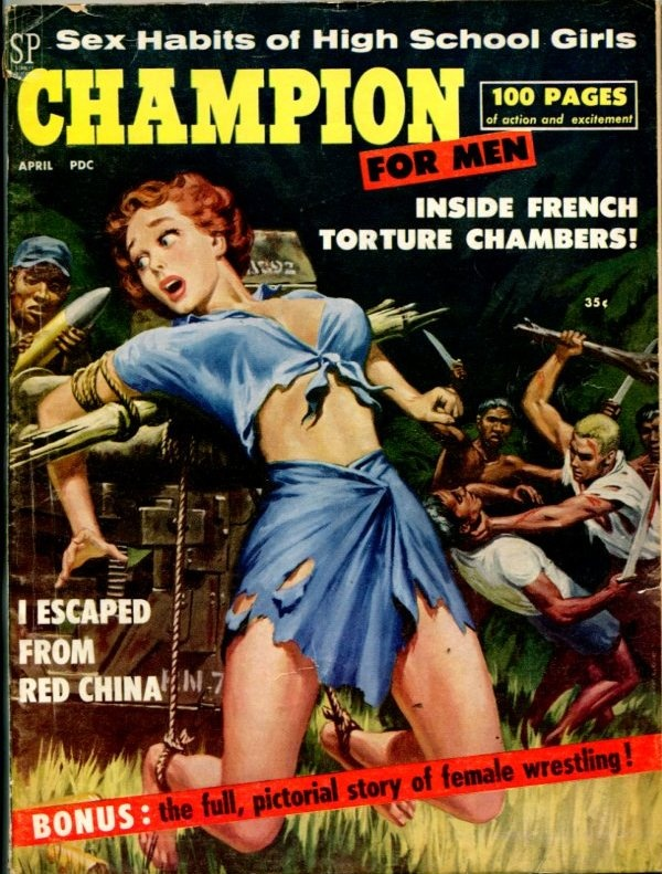 Champion For Men April 1959