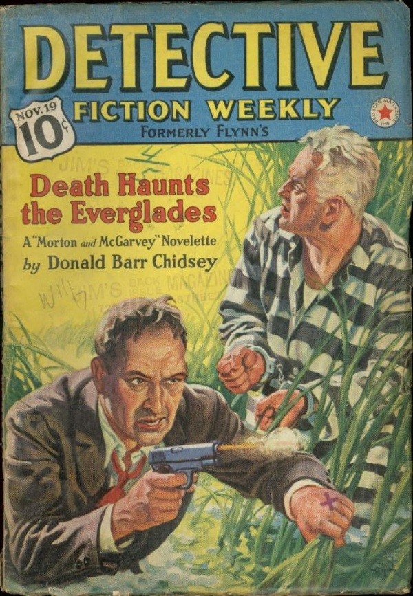 Detective Fiction Weekly November 1938