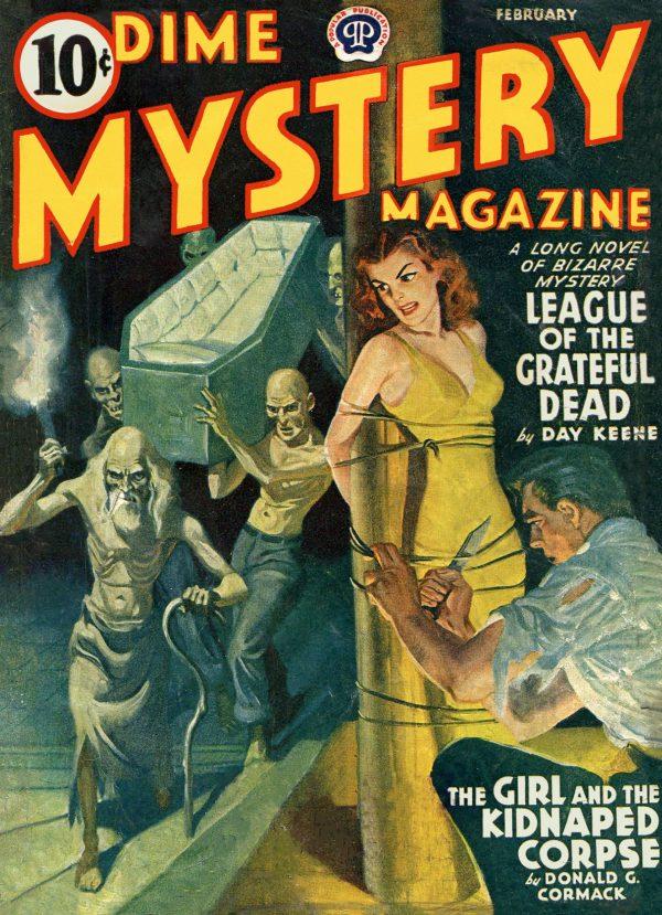 Dime Mystery Magazine February 1941
