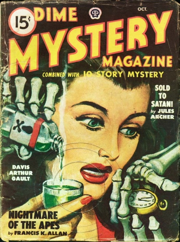 Dime Mystery October 1948