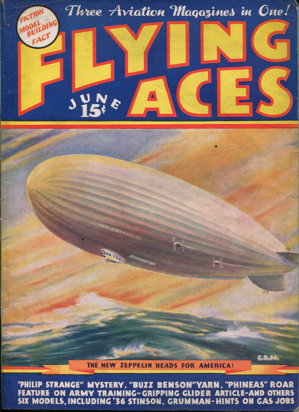 Flying Aces June, 1936