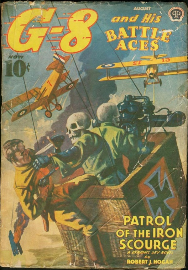 G-8 And His Battle Aces August 1939
