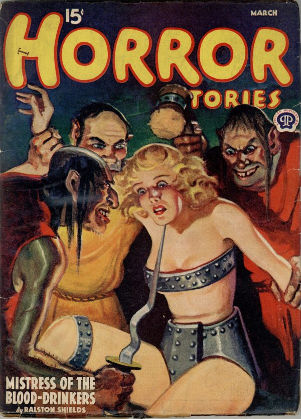 Horror Stories. March 1940