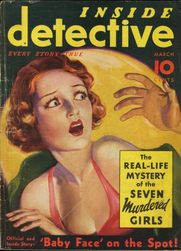 Inside Detective March 1935