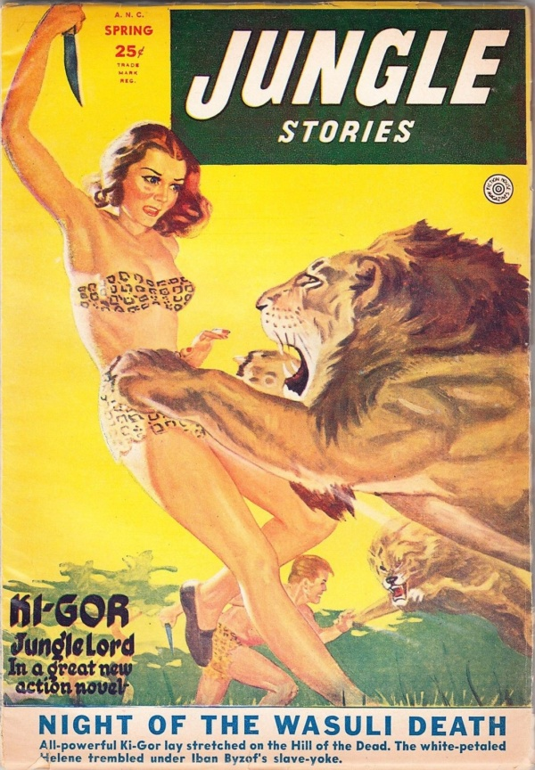 jungle-stories-magazine-spring-1952